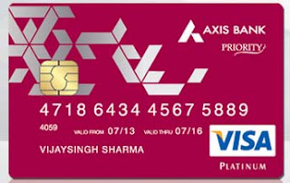 2X Axis eDGE Reward Points & 10% Cash Back on Online Spends with Axis Priority Debit Card