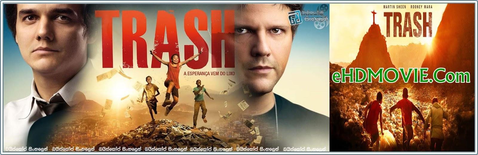 Trash 2014 Full Movie Brazilian 720p - 480p ORG BRRip 450MB - 750MB ESubs Free Download