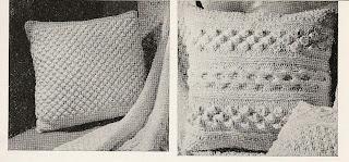 Aran Pillows Knitting Pattern