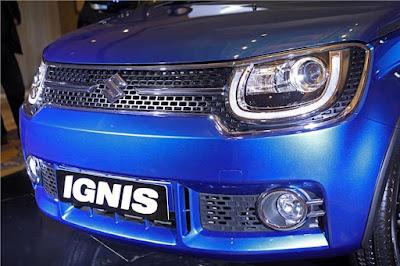 2017 Maruti Ignis front Bumper