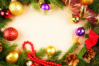 Christmas message background image template