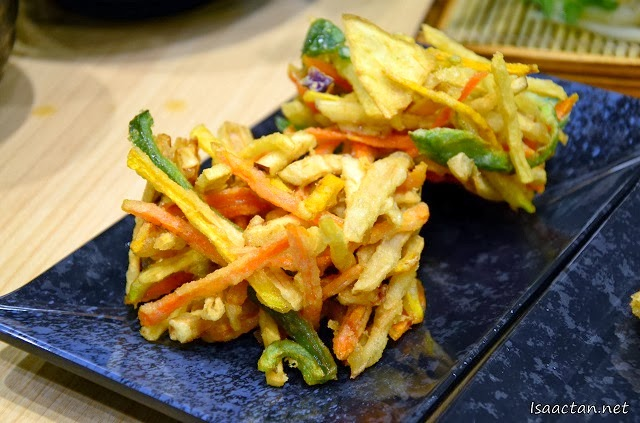 #8 Potato vege tempura