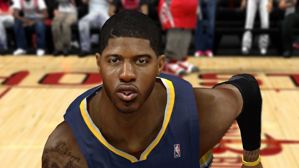 NBA 2K14 Paul George Realistic Face Mod