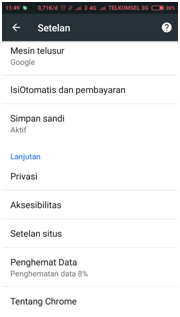 nonaktifkan terjemahan otomasti google chrome