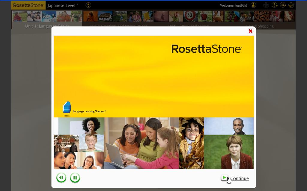 Japan, My Love: Rosetta Stone Japanese