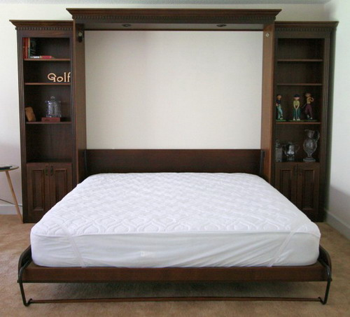 King Size Murphy Bed Mechanism