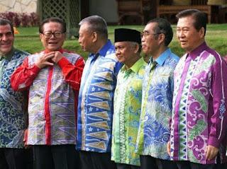 Fesyen Pria Baju Batik Songket Sarawak Trend Terbaru Lelaki