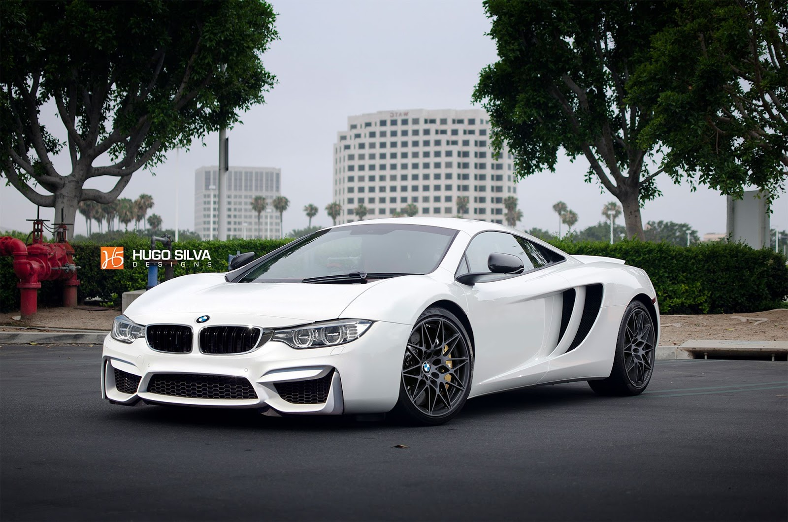 This BMW/McLaren Supercar Mashup Doesn't Look Half Bad
