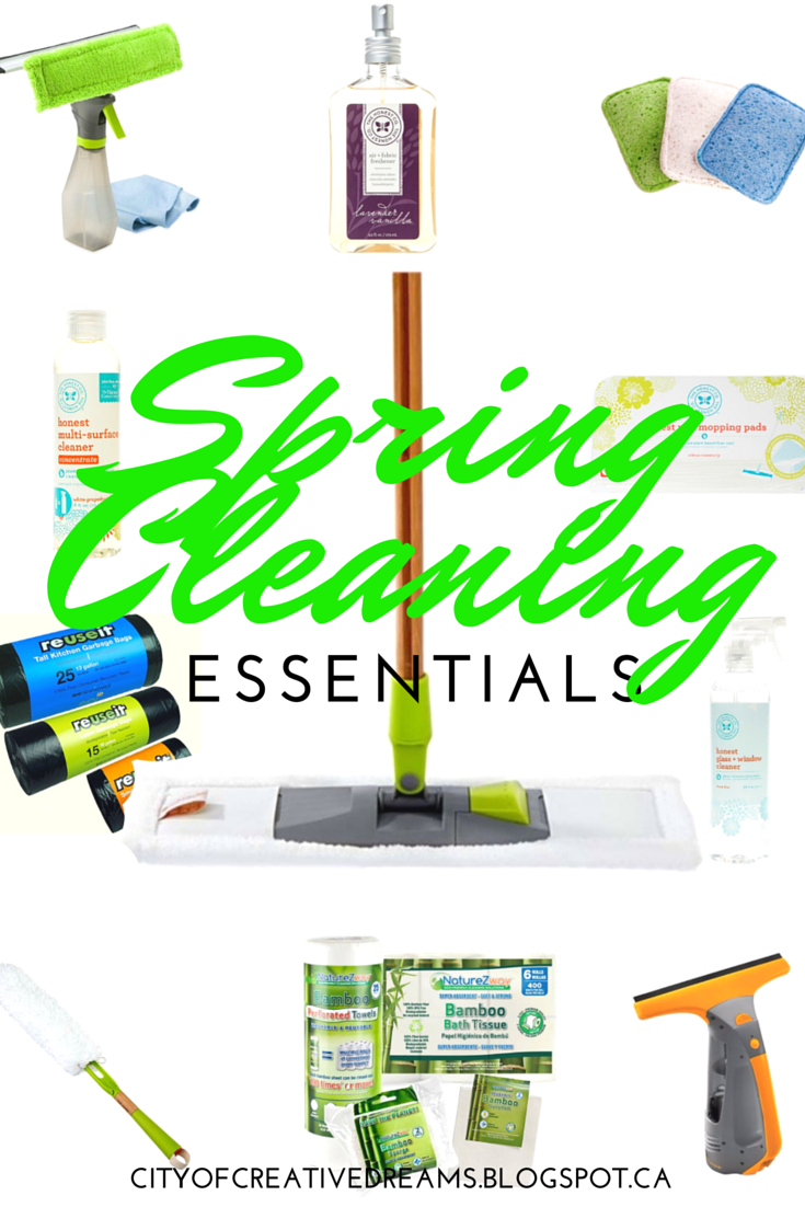 Spring Cleaning Essentials | City of Creative Dreams
