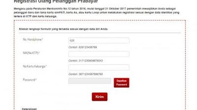 Kemkominfo: Jangan Khawatir Keamanan Data Registrasi Kartu