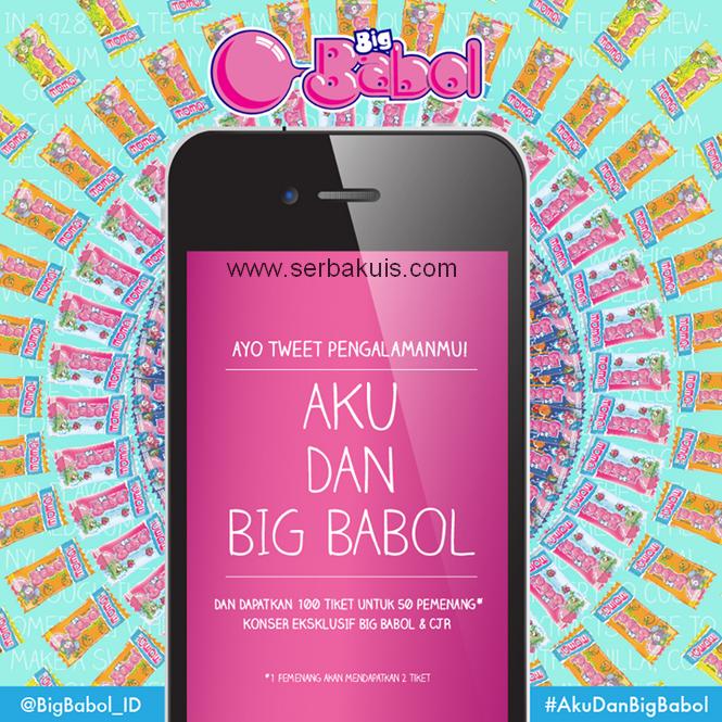 Kontes Aku dan Big Babol Berhadiah 100 Tiket Konser CJR