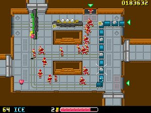 Hyper Princess Pitch freeware PC shooter game