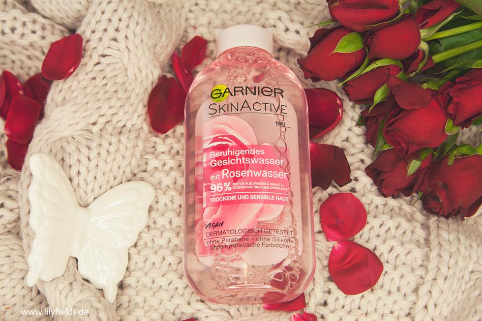 Beruhigendes Gesichtswasser mit Rosenwasser