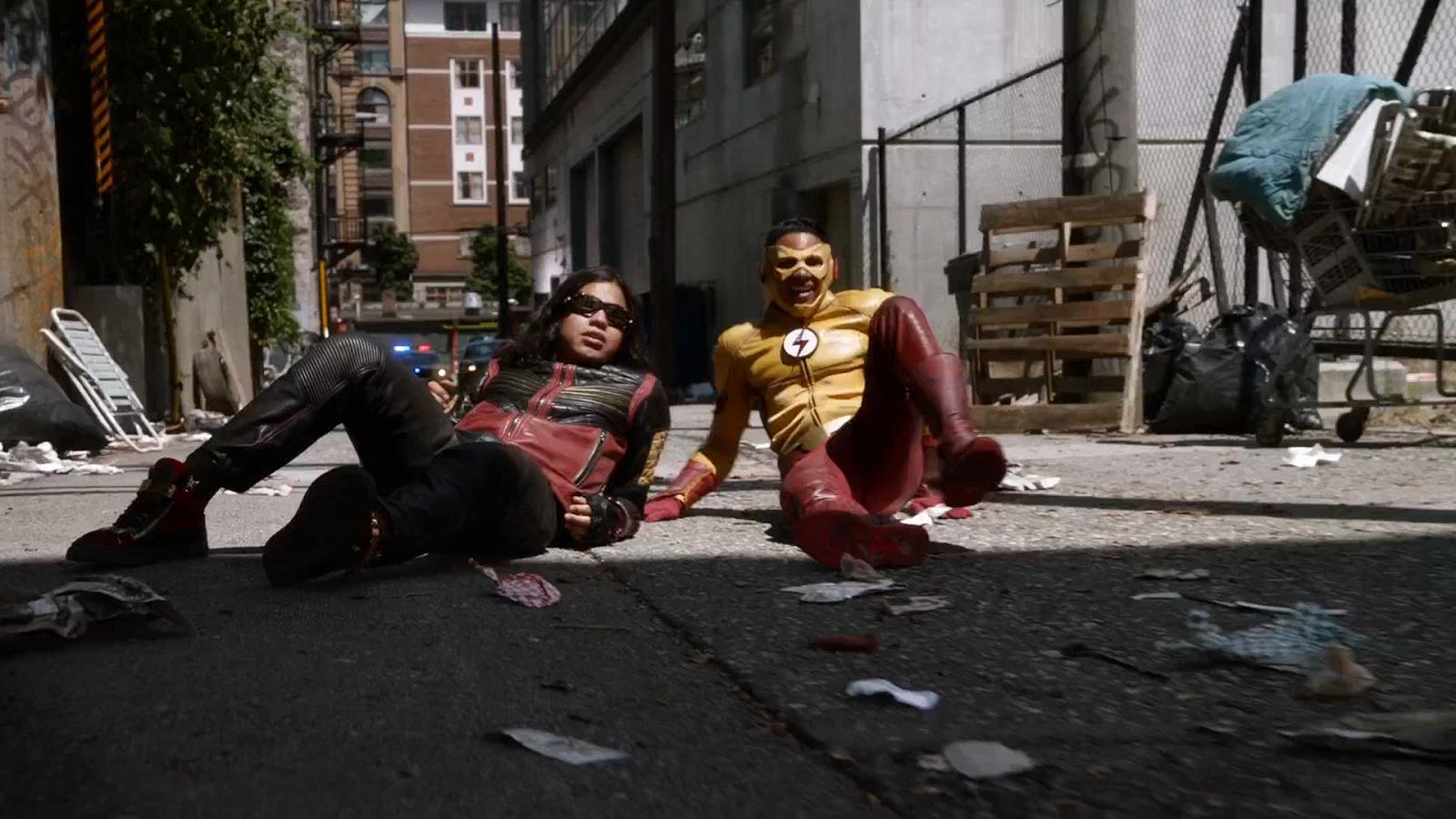 The Flash [S04-E01] 1080p y 720p Sub Español captura 1