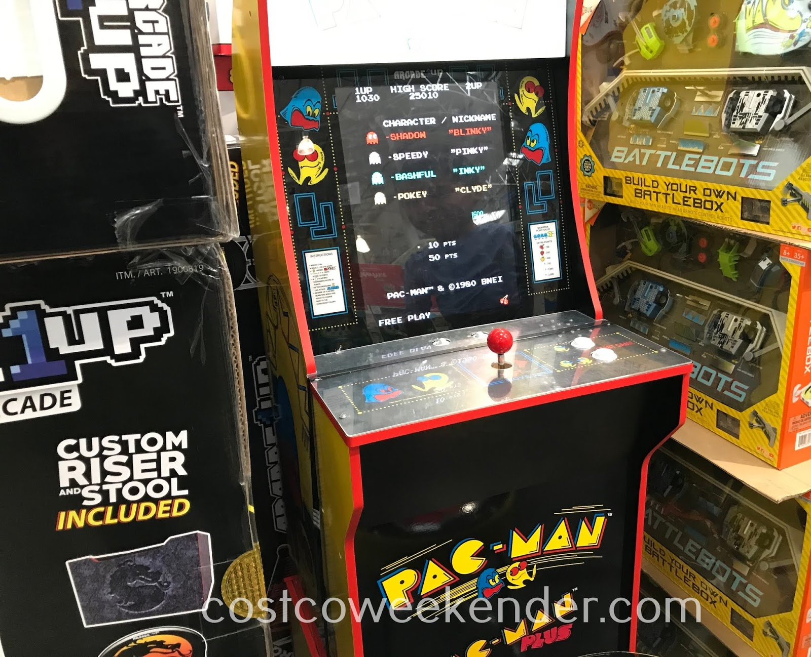 Have your very own home arcade with Arcade1Up Mini Arcade Machines