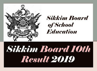 Sikkim Board 10th Results 2019, Sikkim Result 2019 10th , Sikkim Board Class 10 Result 2019