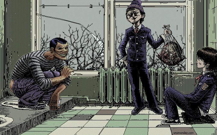Uno Moralez. Пиксель-арт