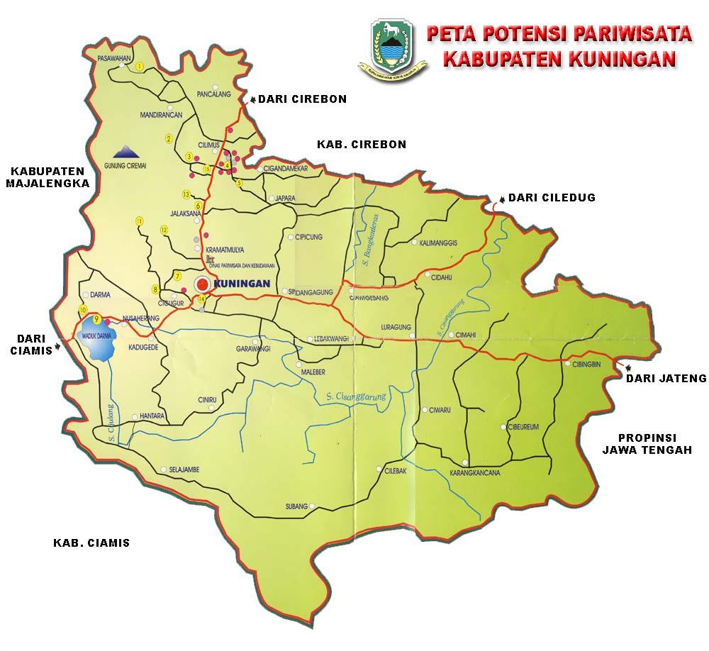 Map Cirebon Lengkap