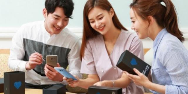 سامسونج تطلق رسمياً الإصدار المعدل من جالاكسي نوت 7