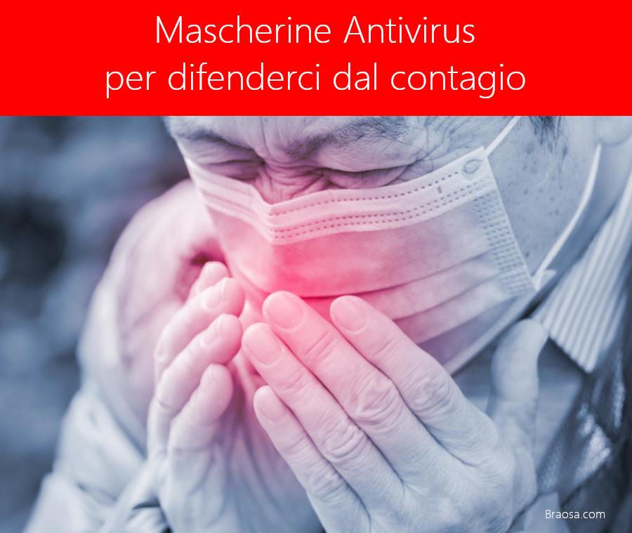 Quali mascherine antivirus indossare per combattere il contaggio da virus COVID-19