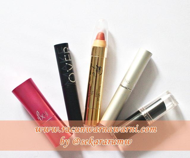 Berbagai Merk Nude Peach Lipstick