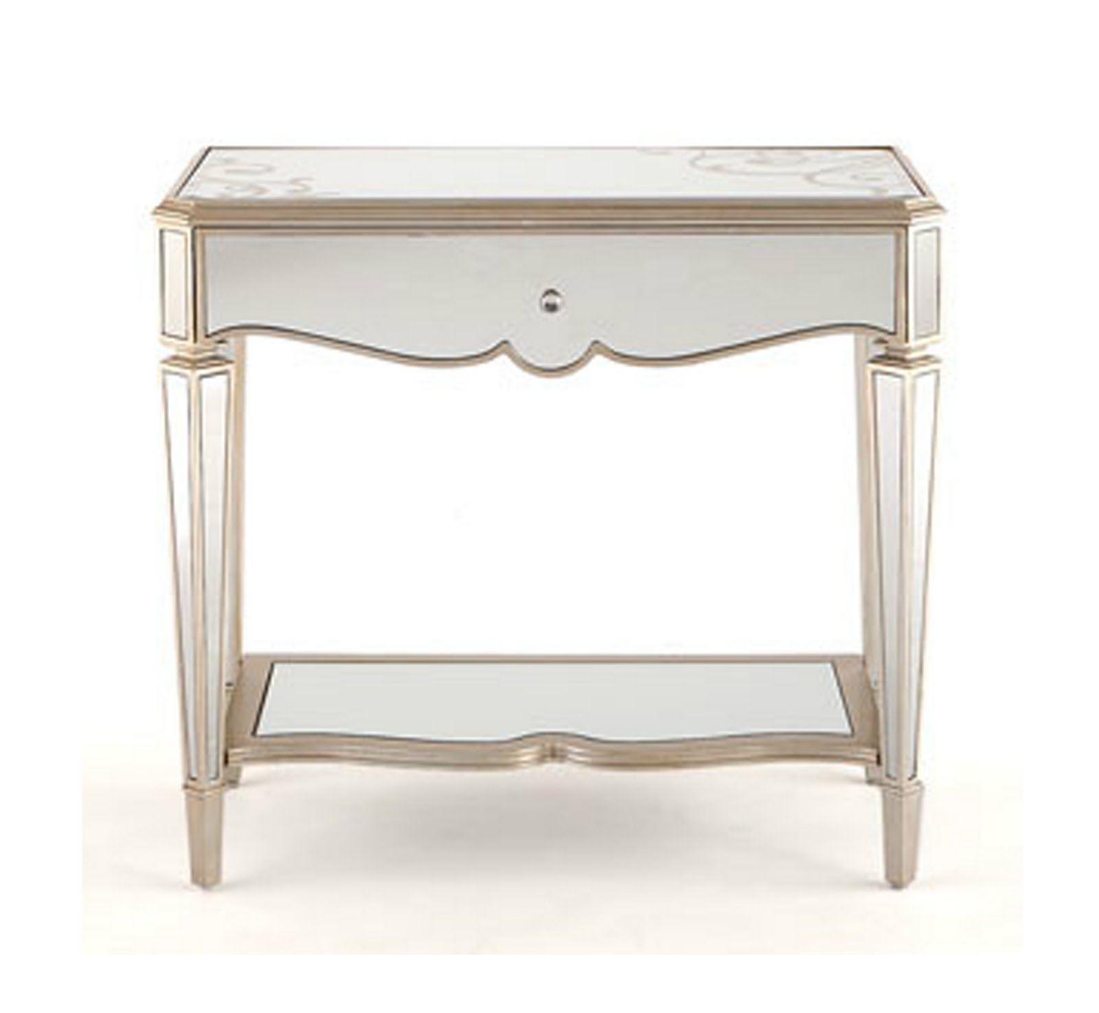 Thrifty Thursday Mirrored Bedside Tables