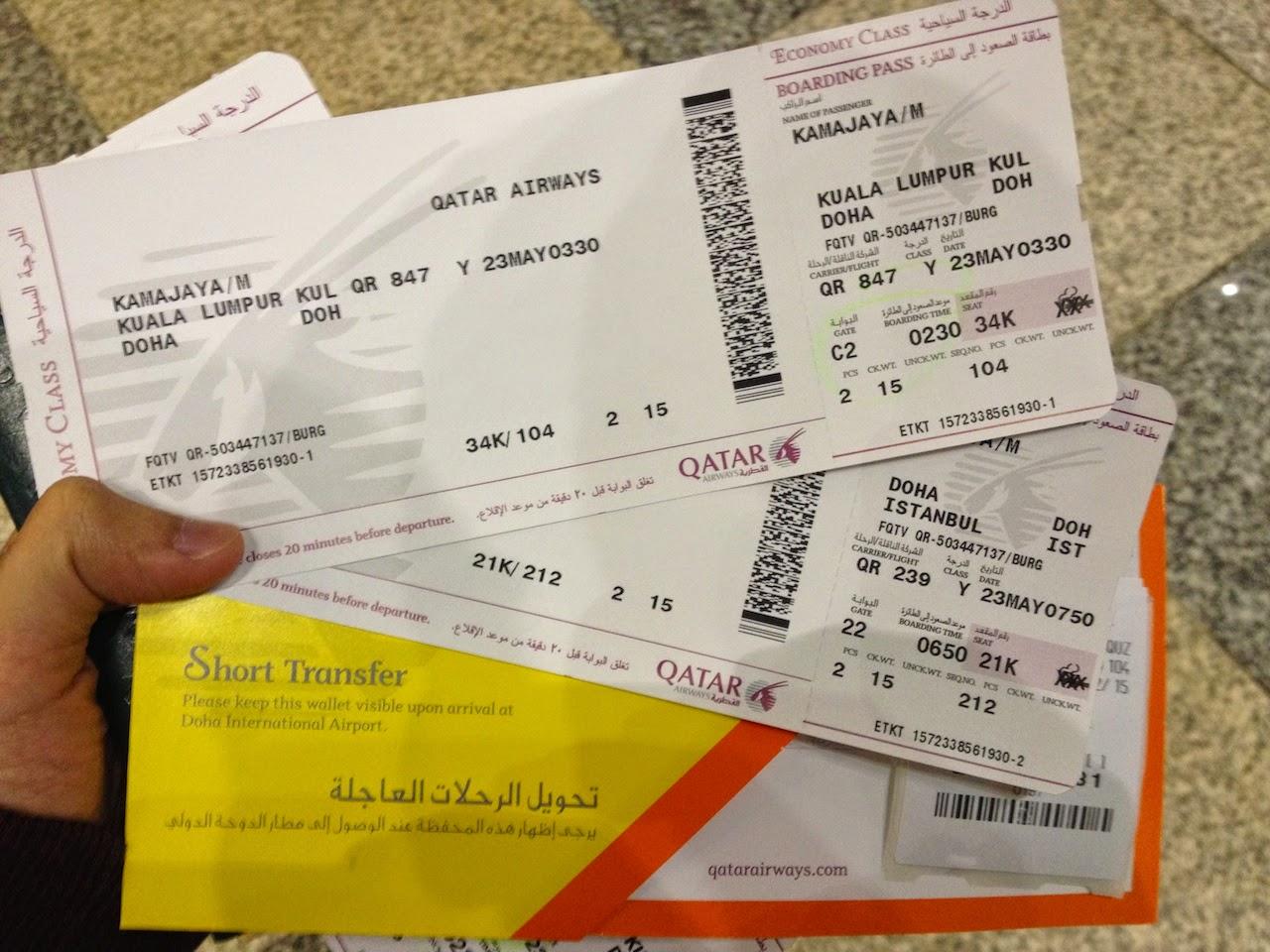 Terbang Dengan Qatar Airways The Story Of My Life