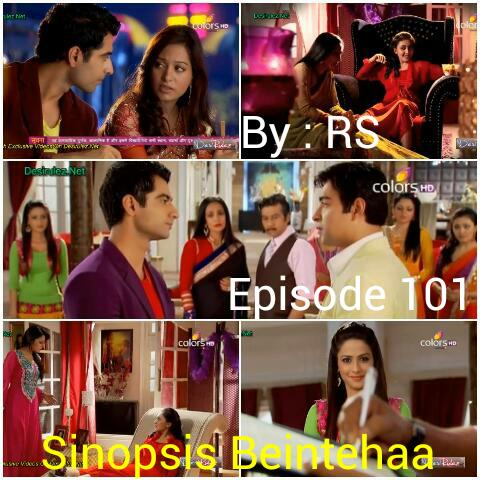 Sinopsis Beintehaa Episode 101