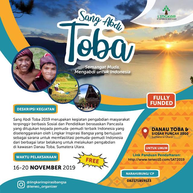 EVENT: SANG ABDI TOBA