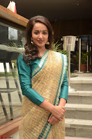 Tejaswi Madivada looks super cute in Saree at V care fund raising event COLORS ~  Exclusive 102.JPG