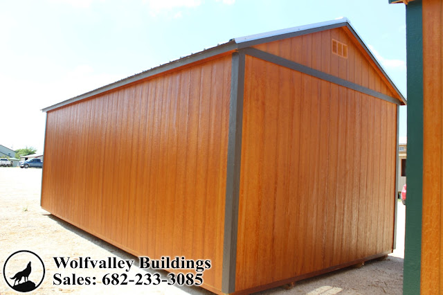 Wolfvalley Buildings Storage Shed Blog Shed Side