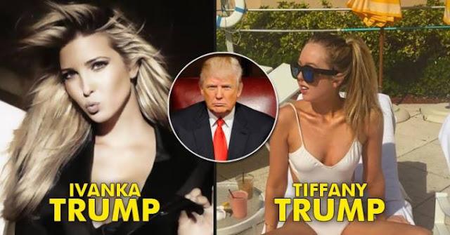 Trump's Beautiful daughters Ivanka Trump and Tiffany Trump