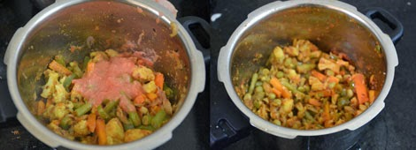 Mixed Vegetable Kadai Veg Curry Recipe