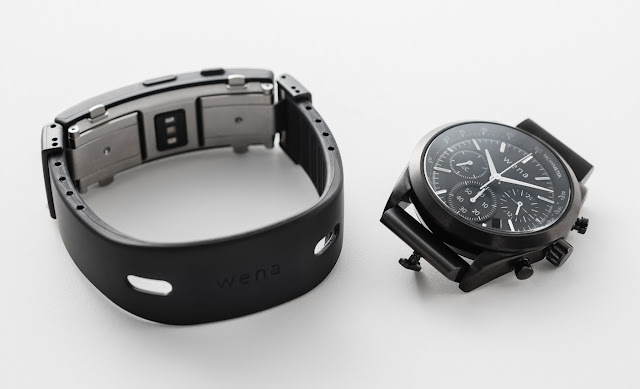 Sony Wena Smart Bracelet For A Traditional Watch