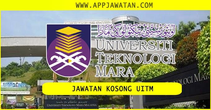 Jawatan Kosong kerajaan di Universiti Teknologi MARA (UITM).