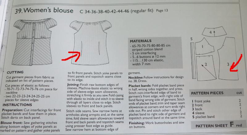 fairyknits pfusch vom profi damenbluse nach ottobre 2 2005. Black Bedroom Furniture Sets. Home Design Ideas