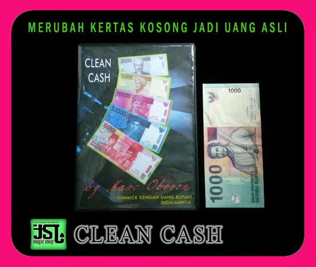 TOKO SULAP JOGJA CLEAN CASH MAGIC