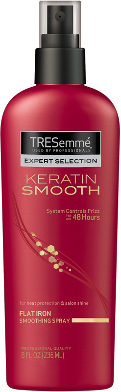 Click here to buy TRESEMME KERATIN SMOOTH HEAT PROTECTION SHINE SPRAY, one of the best for protecting natural hair during heat styling.