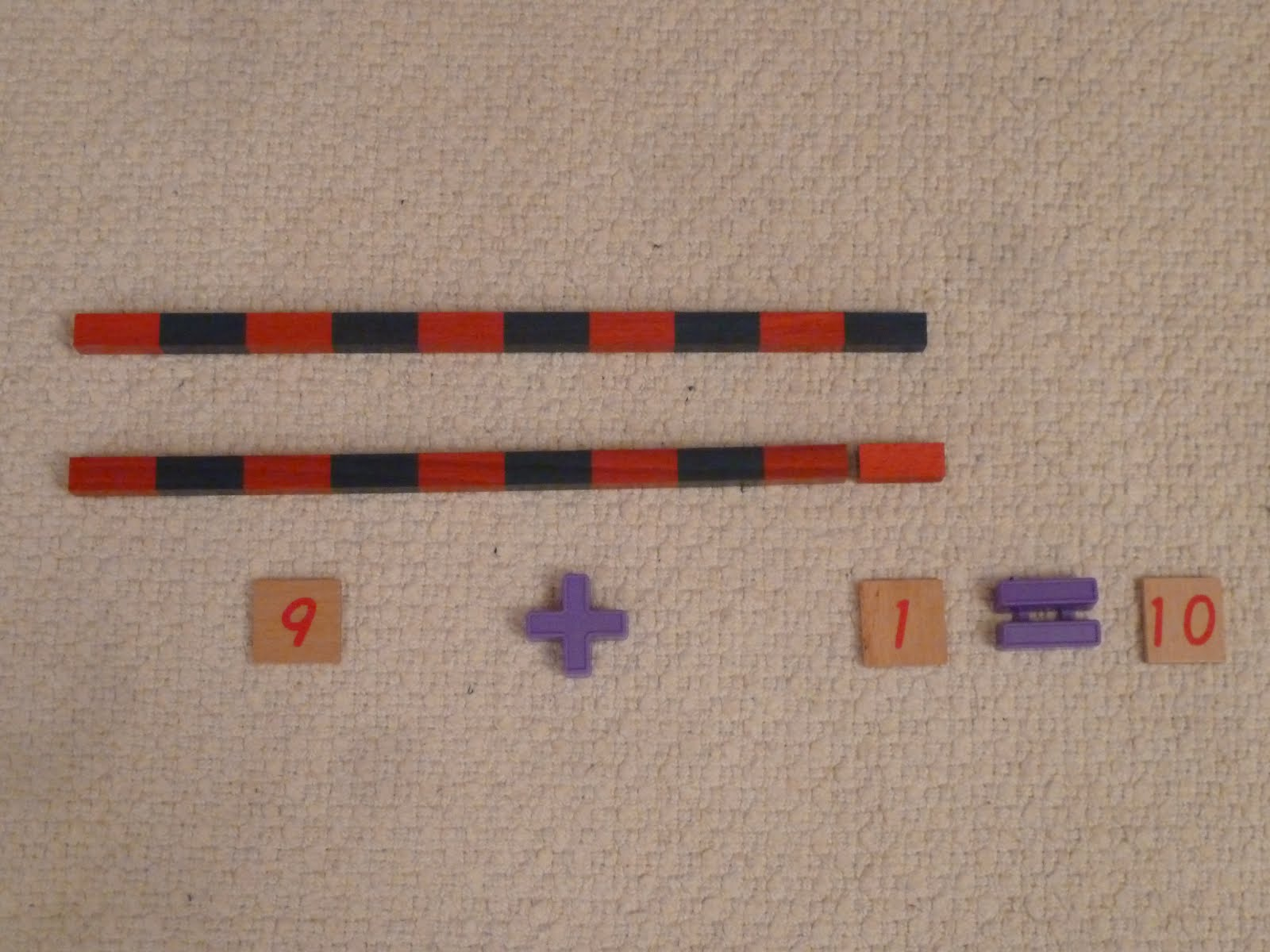 Family Fecs Montessori Activity Static Addition With