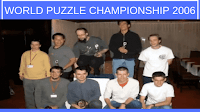 This is the video from World Puzzle Championship 2006