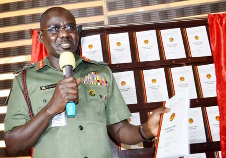 Army refutes allegation that Buratai, wives own property in Dubai