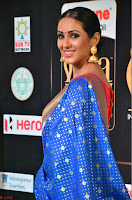Priya Shree in Beautiful Blue Saree at IIFA Utsavam Awards 2017  Day 2    HD Exclusive Pics 13.JPG