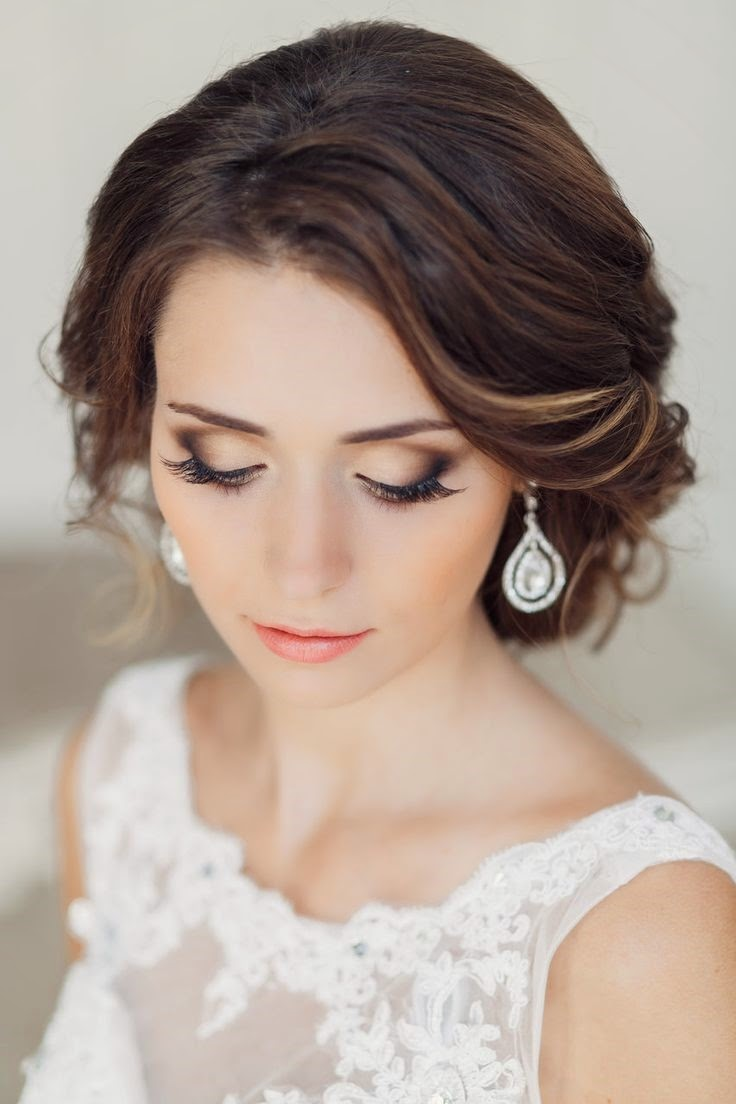 wedding hair and makeup - wedding decor ideas