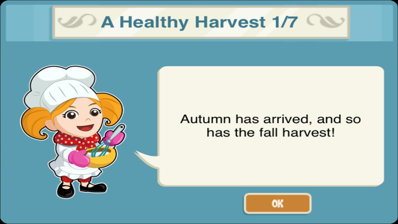 Restaurant Story Adventures: Harvest time and time on veggie plants, veggie pringles, veggie animals, veggie garden, veggie baskets, veggie trees,