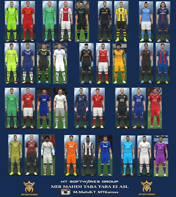 PES 2016 New Kit 2016-17 v.1.5 by MT Games 1991
