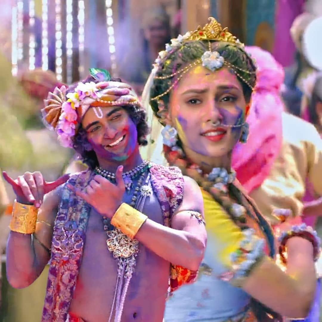 IND 彡Radha Krishna Quote彡 - जीवन में हर मौके का फायदा उठा लो,