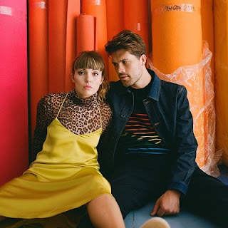 Oh Wonder promotional photo 2019