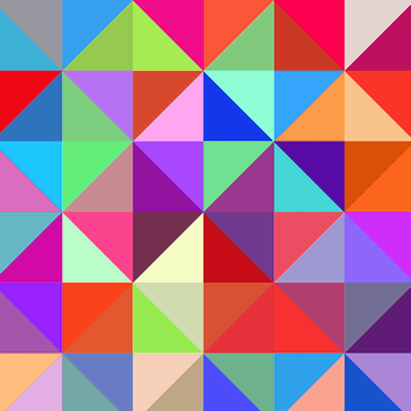 Colorful Triangles Geometric Freebies
