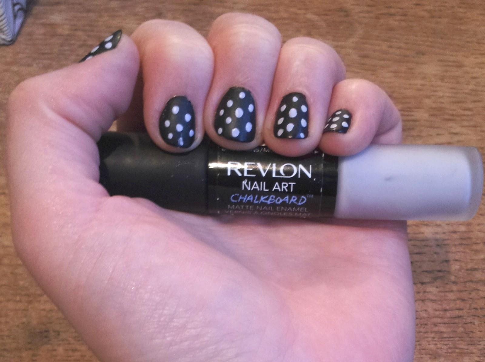 Revlon Nail Art Chalkboard
