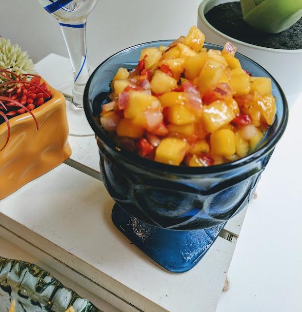 Delicious Tequila Peach-Mango Smoothie - AK Party Studio